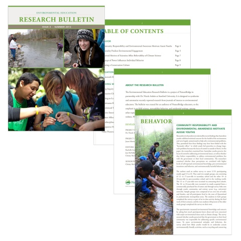 Nature Bridge 46 Page Bulletin