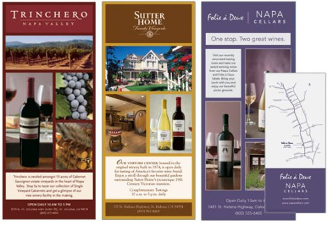 Winery Advertising Cards