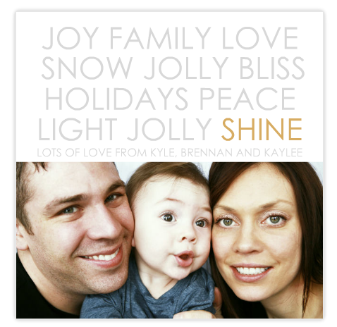 Holiday Photo Card for Mixbook