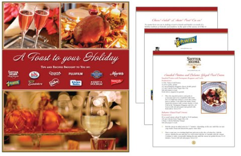 Sutter Home Holiday Recipe Book