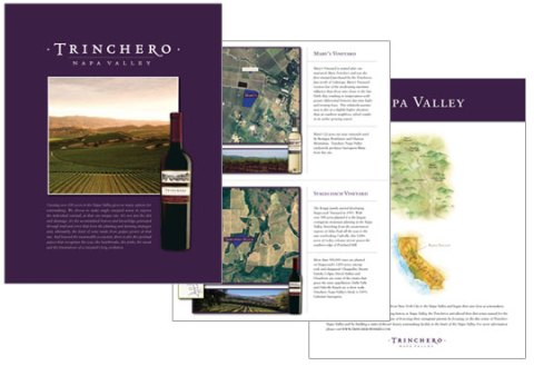 Trinchero Winery Vineyard Sell Sheet